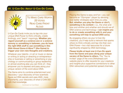 U-Can-Do 01: About U-Can Do Cards