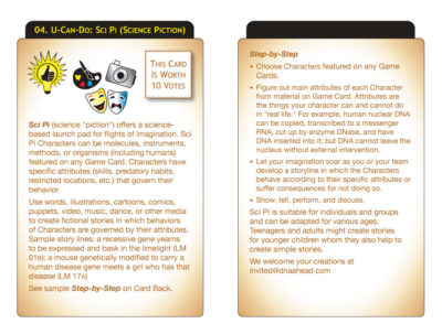 U-Can-Do 04: Sci Pi (Science Piction)