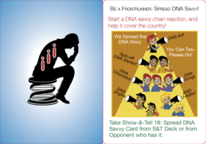 Be a Frontrunner: Spread DNA Savvy