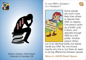 Is your DNA a Gadabout or a Homebody?